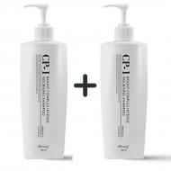 1+1 Набор из 2 протеиновых шампуней для волос ESTHETIC HOUSE CP-1 BC Intense Nourishing Shampoo, 500 мл: фото