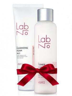 Набор LabNo Set 4SP Cherry Blossom: Тонер Amino Toner + Пена для умывания Cleansing Foam: фото
