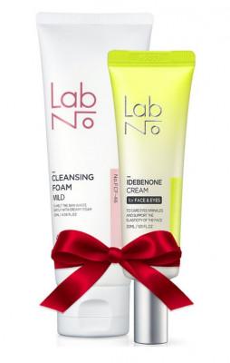 Набор LabNo Set: Крем для век Cream for Face & Eyes + Пена для умывания 4SP Mild Cleansing Foam: фото