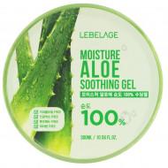 Гель Универсальный успокаивающий с экстрактом алоэ Lebelage Soothing Gel Moisture Aloe 100% 300 мл: фото