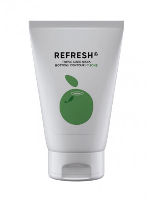 Маска-детокс для Т-зоны лица REFRESH Triple Care Mask T-Zone 50 мл: фото