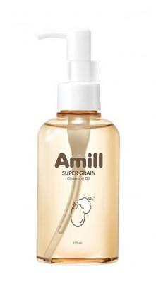 Гидрофильное масло с зерновыми экстрактами AMILL Super Grain Cleansing Oil 125мл: фото