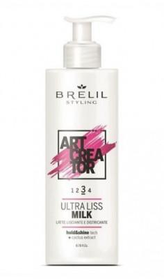 Молочко для волос ультраразглаживающее BRELIL ARTCREATOR ULTRA LISS MILK 200 мл: фото